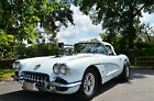 Chevrolet Corvette N A 1958 chevy corvette 460 miles since frame off resto done 20 years ago
