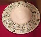 Plate Taylorstone Cathay Unmarked Aqua Teal  (set2/lot 3)