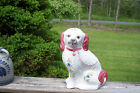 REEL Pottery Portugal Large Hand Painted Dog Gorgeous 468R