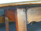 Exquisite Antique 19th Century Large Oval Plank Top French Farmhouse Table