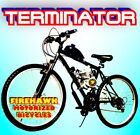 TERMINATOR 80cc Gas Motor COMPLETE ENGINE WITH A 26 BIKE BICYCLE MOPED SCOOTER