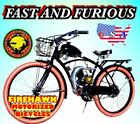 USA SELLER NEW 2018 FAST FURIOUS COMPLETE 50 80 CC GAS MOTOR BIKE SCOOTER MOPED