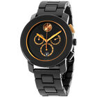 Movado Men's 3600271 Bold Round Black Stainless Steel Bracelet Watch
