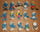 Vintage Peyo Schleich Lot of 45 different Smurfs PVC figure