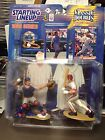 Kenner Starting Line Up Mike Piazza & Ivan Rodriguez 1998 Classic Double Catcher