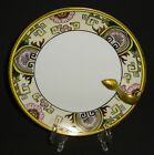ANTIQUE NIPPON PORCELAIN PLATE TRAY HAND PAINTED GOLD ART DECO 1891-1921 JAPAN
