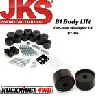 JKS B1 125 Body Lift for Jeep Wrangler TJ  Unlimited 1997 2006 9904 USA MADE