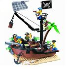 178 Pcs Pirate Ship Scrap Dock Sets Minifigures Compatible With LEGO Educational