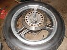 1985 kawasaki zx750 gpz750 rear wheel rim with good tire