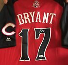 KRIS BRYANT CHICAGO CUBS SIGNED 2015 ASG AUTHENTIC JERSEY FULL LETTER JSA COA
