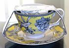 222 FIFTH ADELAIDE YELLOW TEA/COFFEE CUP SET NEW CHINA PORCELAINE