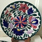 German Persian Ware Floral Design Plate Pottery Germany Decorative Vintage EUC