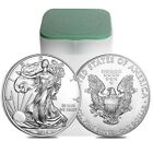 2015 American Eagle Dollars 20 Coins BU in Tube of 20 Silver Coins
