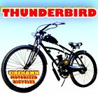 USA SELLER NEW 2018 THUNDERBIRD GAS MOTOR BIKE BICYCLE 48 49 50 CC SCOOTER MOPED