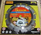 IRWIN CONTRACTOR CIRCULAR SAW BLADE T8 184mm 71/4