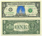 CHATEAU DISNEYLAND VRAI BILLET DOLLAR US COLLECTION Disney Parc Castle Princess
