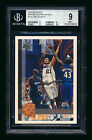 1997-98 TOPPS #115 TIM DUNCAN RC MINTED IN SPRINGFIELD ROOKIE SPURS BGS 9 MINT!