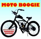 USA SELLER NEW 2018 MOTO BOOGIE 50 80 CC GAS MOTOR WITH 26 BIKE SCOOTER MOPED