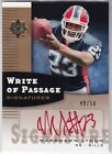 2007 UD Ultimate Collection Marshawn Lynch RED AUTO RC 50 Autograph
