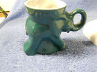 1990 FRANKOMA ELEPHANT GOP REPUBLICAN PARTY MUG CUP-TEAL