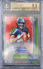 BGS 9.5 - 2012 FINEST RUSSELL WILSON #140 RC (07 15) RED REFRACTORS AUTO 10 w 10