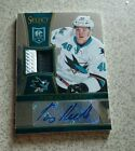 Tomas Hertl Select Prime Jersey Auto 2 Color San Jose Sharks *MAKE US AN OFFER*