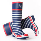 Evercreatures Great Quality Rain Boots Wellies Navy Stripes Rain boot UK Brand