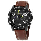 Nixon Ranger Chrono Leather A940712 Black Dial Men's Leather Band Watch
