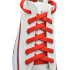 Flat Shoelace 8 mm Red Athletic Sneakers 2736455463