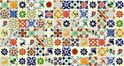 WHITE DESIGNS Mexican Tile Handmade Talavera Backsplash Handpainted Mosaic
