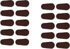 Adhesive Stick on Foam Nose Pads for Glasses Tear Drop Shape 20 400 Count