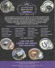 2016 LEAF FOOTBALL AUTOGRAPH MINI HELMET FACTORY SEALED HOBBY BOX