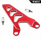HONDA FRONT CHAIN GUIDE GUARD CRF450R 250R 10-14  KX250F 04-15 RMZ450 04-06 RED