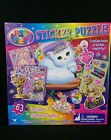 Lisa Frank Jigsaw Sticker Puzzle 63 Pieces Cat Queen Craft Kids Collectible