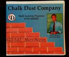 Chalk Dust ACT SAT Math Review DVD Series Dana Mosely Set
