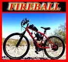 FIREBALL 80cc Gas Motor COMPLETE ENGINE WITH 26 BIKE BICYCLE MOPED SCOOTER KIT
