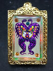 King of Butterfly With 9 Tailed Fox Lady By Kruba Krissana Thai Buddha Amulet#3