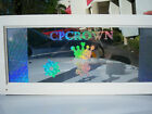 HOLOGRAPHIC 24 x10LF DECAL FILM DESIGN CRICUT FOR CUTTER PLOTTERS SEE PICTURES