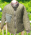 GERMAN MILITARY QUILTED ZIP IN PARKA COLD WEATHER JACKET LINER