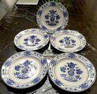 BOCH Dresden Saxony Flow Blue Dinner Plates 05 Germany