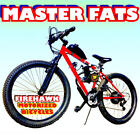NEW MASTER FATS FAT TIRE 50 80CC GAS MOTOR MOTORIZED BIKE BICYCLE MOPED SCOOTER