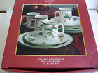 LENOX HOLIDAY GATHERING HOLIDAY BERRY 12 PIECE SET BY LOUISE LeLUYER