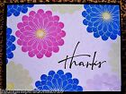 Handmade Stampin Up THANK YOU Card Kit 4 Cards + Envelopes Spring Daisy Flowers