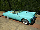 Ford Thunderbird 1955 ford thunderbird 860 miles amos minter loaded 100 pics