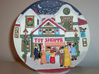NIB Porcelain Christmas Around The World Lighted Musical Plate House of Lloyd