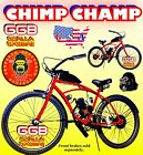 USA SELLER NEW 2019 CHIMP CHAMP 50 80 CC GAS MOTOR  26 BIKE SCOOTER MOPED DIY