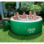 Coleman LayZ Massage Portable Spa for 4-6 People Cushioned floor with convenient