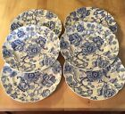 JOHNSON BROTHERS ENGLISH CHIPPENDALE LUNCHEON PLATES 9