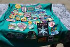 Girl Scout Lot Patches Vest Pins