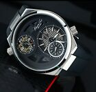 KENNETH COLE MENS 2 TIMES EDITION RUBBER SKELETON WATCH KC1680